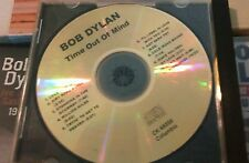 Acetate CDR Bob Dylan: Time Out of Mind CD  1997 Columbia Promo CK 68556 DJ Copy