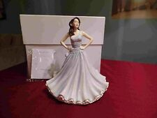 Royal Doulton pretty ladies Christine Grey New christmas HN5621