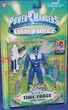 Power Rangers Time Force Blue Ranger New Light up 5 inch Factory Sealed 2000