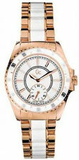 Guess Collection GC 47003L White Dial Two Tone Stainless Women's Watch