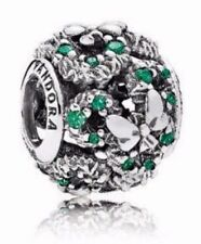 AUTHENTIC PANDORA DISNEY MINNIE'S  SPARKLING HOLIDAY WREATH S925 ALE CHARM