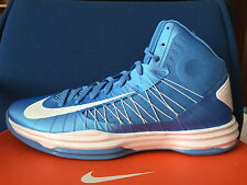 NIKE HYPERDUNK Basketball SHOES carolina university baby blue white jordan sz 17
