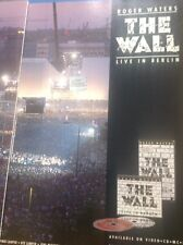 ephemera 1990 Ephemera Advert The Wall Live In Berlin Waters Album Advert
