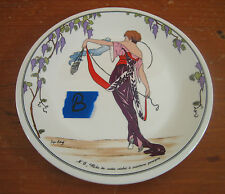 Villeroy Boch Design 1900 Bread Butter Plate #B Art Deco Nouveau Women N.6 Robe