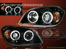 2005-2008 CHEVY COBALT HEADLIGHTS LED 2 HALO CCFL