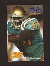 Kenyon Coleman--2000 UCLA Bruins Football Schedule--Pacific Bell