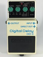 Boss DD-3 Digital Delay Vintage Guitar Effect Pedal Made in Japan 1988