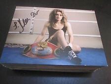 50749 Ina Menzer Boxen original signierte Autogrammkarte