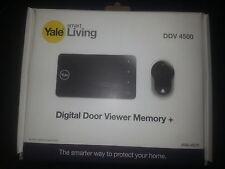 """Yale smart living digital Door Viewer memoey+ & Camera 4"""" Display & Night Vision"""