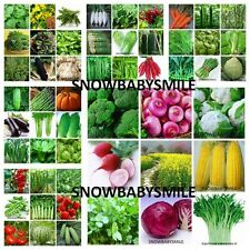 55 Variety 23,000 Vegetable Seeds Spice Herbs Organic NON GMO Heirloom Lot