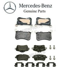 Mercedes-Benz CLA45 AMG GLA45 AMG Set of Front and Rear Disc Brake Pads Genuine
