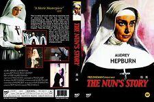 The Nun's Story,1959 (DVD,All,Sealed,New) Fred Zinnemann, Audrey Hepburn, Peter