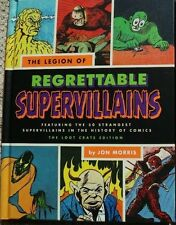 BOOK THE LEGION OF REGRETTABLE SUPERVIALLAINS EXCLUSIVE LOOTCRATE 2016 NEW