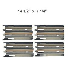 Gas Grill 4 Heat Plates Stainless Steel Shield Vermont Jenn Air BBQ Parts 90081