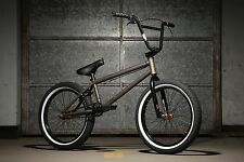 "KINK WHIP MATTE RAW 20"" BMX BICYCLE COMPLETE BIKE DIRT BIKE FREESTYLE"