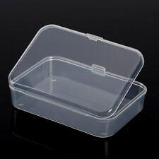 Praktische Kunststoff Klar Transparente Kollektion Container Lagerung Box Neu