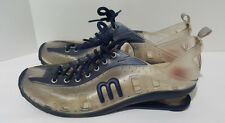 I LOVE MELISSA Love System Now Navy Blue Clear PVC Shoes Sneakers US 9 / UK 38