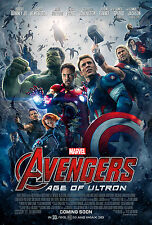 "Avengers: Age of Ultron (2015) Movie Poster New 24""x36"" Robert Downey Jr."