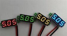 """0.28"""" Dc Digital Voltmeter Panel Mount Led Voltage Volt Meter Red 2.50~30V New O"""