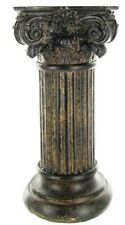 Brown Resin Roman Candle holder.Classic elegance &  timeless beauty. Home Decor