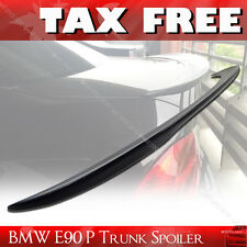 E90 BMW 3-Series Performance P-TYPE Rear Trunk Spoiler 318i 335i ABS Unpainted §