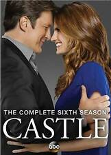 Castle: The Complete Sixth Season 6 (DVD, 2014, 5-Disc Set) NEW