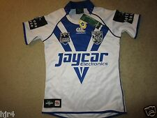 Bankstown Bulldogs NRL Rugby Team Canterbury Jersey Womens 10 NEW