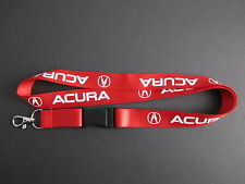 ACURA Lanyard Keychain Quick Release INTEGRA RSX TSX TL ILX DA DC2 MDX - RED