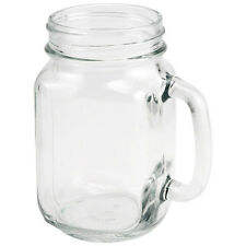 Libbey Mason Drinking Jar Mug 16.5 oz- Summer Glassware Iced Tea/Water/Soda/Beer