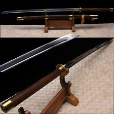 """High Quality Chinese Sword""""Miao Dao""""Katana High Carbon Steel Blade Brass Fitting"""