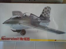 MESSERSCHMITT ME163 S 1/48 SCALE TRIMASTER MODEL+PHOTOETCHED+RESIN PARTS+METAL P