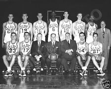 1957-58 BOSTON CELTICS NBA BASKETBALL 8X10 TEAM PHOTO