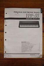 Yamaha Personal Electone Piano YPP-55 Service Manual