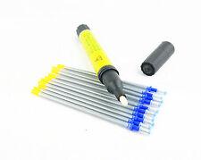 MAGIE SHOW Leathercratf 11 Teile Leder Werkzeuge Silber Kennzeichnung Stift und