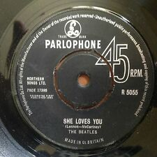 "The Beatles She Loves You/I'll Get You UK 1963 7"" Parlophone Recs"