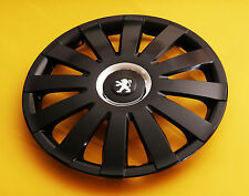 "PEUGEOT 407,307,308...etc. 16"" WHEEL TRIMS, COVERS, HUB CAPS, Quantity 4"