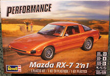 Revell 1/24 Mazda RX-7 2 in 1 Plastic Model Kit 85-4429  854429 Stock or race