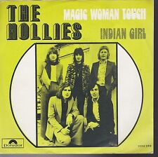 Hollies Magic Woman Touch / Indian Girl Belgium Import 45 With Picture Sleeve
