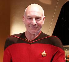 Jean-Luc-Picard Captain Picard Patrick Stewart A4 photo print  trekkies