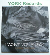 "GEORGE MICHAEL - I Want Your Sex - Excellent Condition 7"" Single  Epic LUST 1"