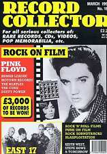 ELVIS PRESLEY / EAST 17 / PINK FLOYD HUMAN LEAGUE Record Collector 187 Mar 1995