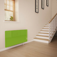 Lime Green Glass Radiator Cover For The Hall - Small
