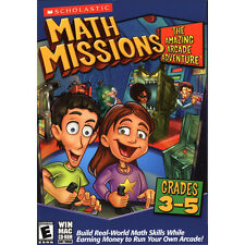 Learning PC games for kids, Math Missions, learn Problem Solving, Money,Geometry