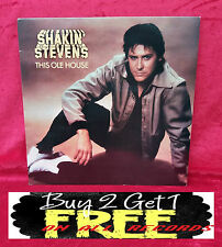 RECORD ~ LP ~ SHAKIN' STEVENS ~ THIS OLD HOUSE ~ FROM 1980 ~ EPC 84985~