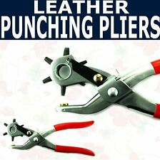 Leather Paper Plastic Cloth Vinyl Hole Punching Pliers