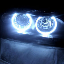For 97-03 BMW E39 5-Series Angel Eye Halo Pro Headlights Head Lights Set Pair