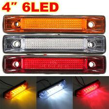 12V  6 LED Clearance Lights Side Marker Indicator Lamp Trailer Truck Boat