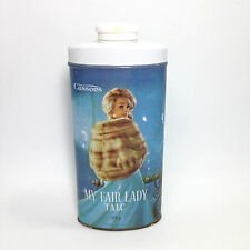 Vintage MY FAIR LADY TALCUM POWDER TIN Cussons 85g LONDON with Some Content