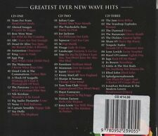 VARIOUS ARTISTS Greatest Ever! New Wave Hits 3 CD BOX SET  NEW - NOT SEALED