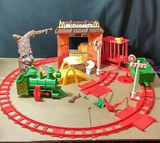 Mcdonalds Mcdonaldland Playset Remco 1976 Train Parts Track and more